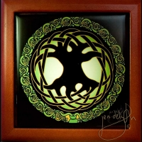 CELTIC TREE OF LIFE Keepsake Box by jen delyth