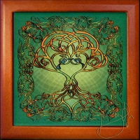 TREE SONG - Song of the Tree Keepsake Box by jen delyth