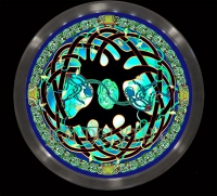 CELTIC TREE OF LIFE MANDALA  LED ILLUMINATION