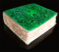 BOOK OF SHADOWS Celtic Tree of Life by Jen Delyth