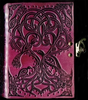 Tree Song Leather JOurnal by Jen Delyth