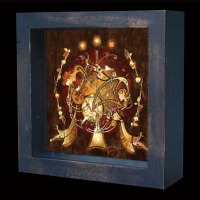 Celtic MUSICIANS  Shadow Box by jen delyth