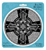 DANU FOLK Window decal By Jen Delyth