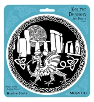 Megalith Window decal By Jen Delyth