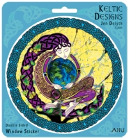 ANU EARTH MOTHER - Window decal By Jen Delyth
