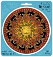 LLEU - SUN Window decal By Jen Delyth