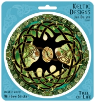 TREE OF LIFE Window decal By Jen Delyth