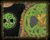 Celebrate your Roots Tshirt By Jen Delyth