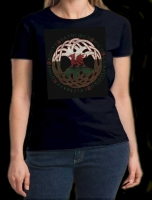 ELEMENTAL TREE OF LIFE Long Sleeved T Shirt Keltic Designs By Jen Delyth