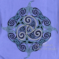 CEILIDH - THE DANCE Short Sleeved T Shirt Keltic Designs By Jen Delyth
