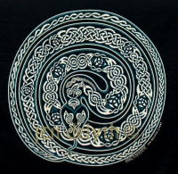 EARTH SERPENT - OUROBOROS Short Sleeved T Shirt Keltic Designs By Jen Delyth