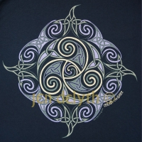 CEILIDH - the DANCE Long Sleeved T Shirt Keltic Designs By Jen Delyth