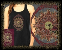 CELTIC WORLD TREE  - yggdrasil - triple entwined tree of life by jen delyth By Jen Delyth
