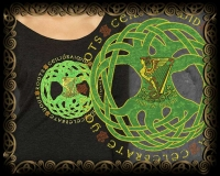 Irish Roots -  Triblend LS Tshirt By Jen Delyth