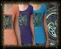 Celtic Weavers - the spiral dance -  Vintage Heather Women's T