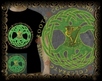 Celebrate Your Roots - Irish Erin Go bragh - Short Sleeved T Shirt by Jen Delyth