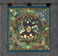 Celtic Tree of Life Wall Hanging by Jen Delyth